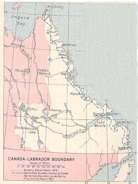 Labrador Boundary